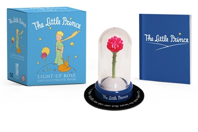 Little pince: light-up rose and illustrated book