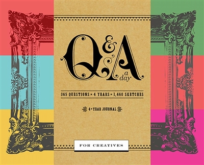 Q&a a day for creatives: a 4-years journal