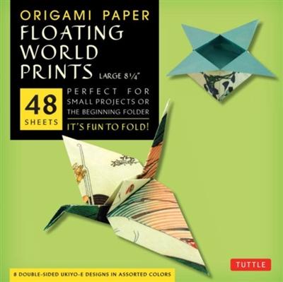 Origami paper floating world ukio-e (large)