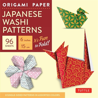 Origami paper: japanese washi patterns (small)