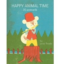 Happy animal time 30 postcards