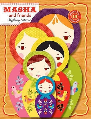 Masha and friends 15 nesting doll notecards