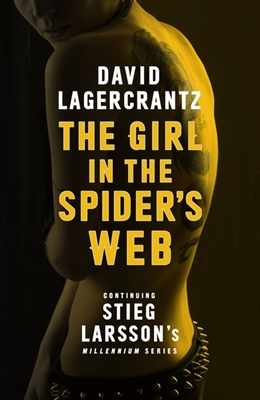 Millennium Girl in the spider's web -