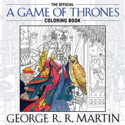 Colouring book Game of thrones coloring book