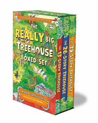 Treehouse books Treehouse series boxed set