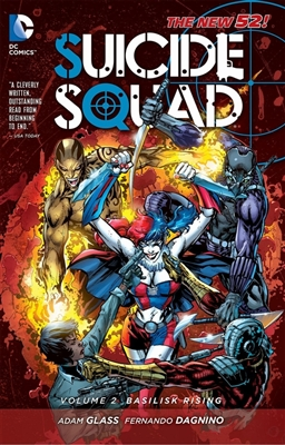 Suicide squad (02): basilisk rising (the new 52)