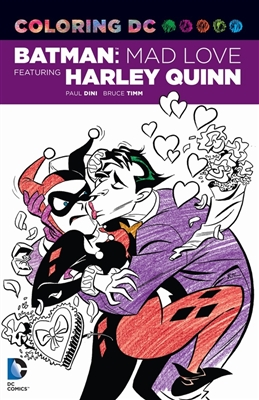 Colouring book Dc comics coloring book: batman adventures: mad love