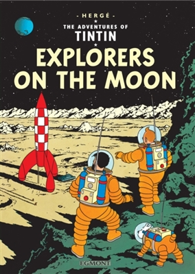 Tintin (16) explorers on the moon