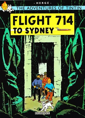 Tintin (21) flight 714 to sydney