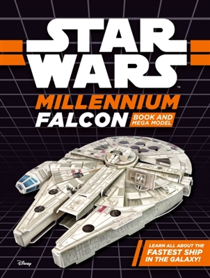 Star wars millennium falcon: book and model