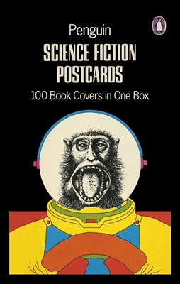 Penguin science fiction postcard box
