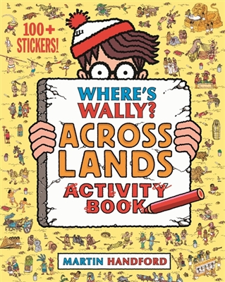 Where's wally? across lands activity book
