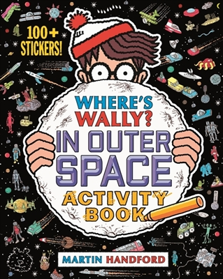 Where's wally? in outer space activity book