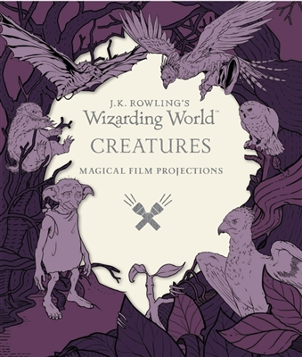 Wizarding world: magical: film projections: creatures