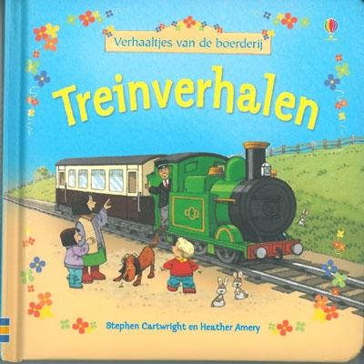 Verhaaltjes van de boerderij treinverhalen