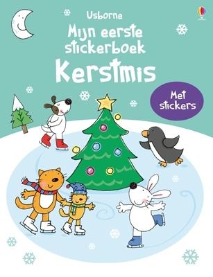 Mijn eerste stickerboek: kerstmis