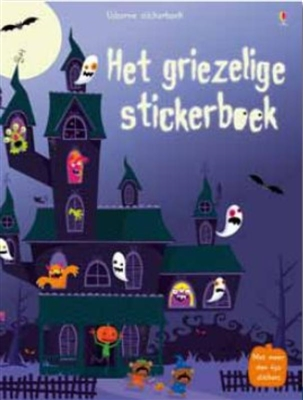 Usborne stickerboek Griezelige stickerboek