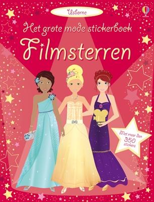 Grote mode stickerboek Filmsterren