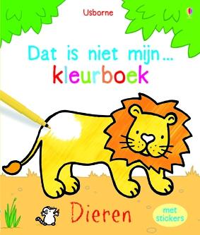 Dat is niet mijn ... kleurboek - dieren
