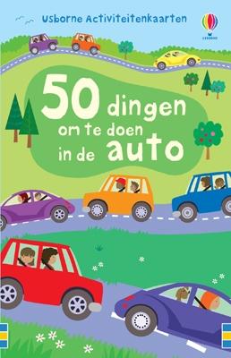 Activiteitenkaarten 50 dingen om te doen in de auto