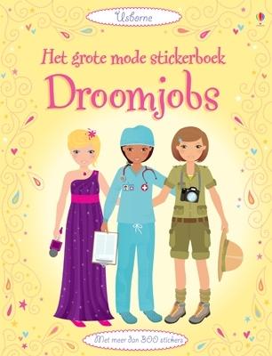 Grote mode stickerboek Droomjobs