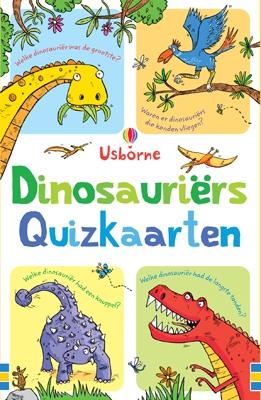 Quizkaarten: dinosauriers