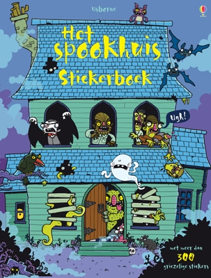 Usborne stickerboek Het spookhuis