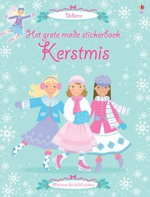 Grote mode stickerboek Kerstmis