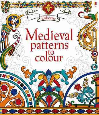 Medieval patterns to colour