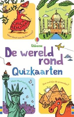 Quizkaarten wereld rond