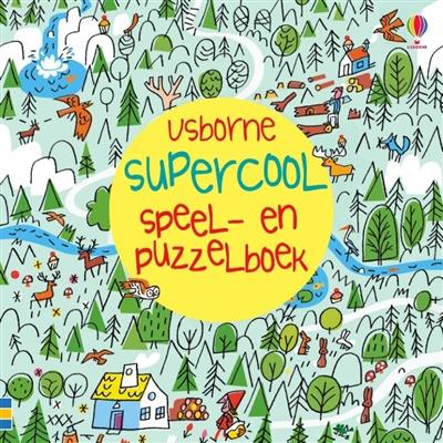 Supercool speel- en puzzelboek