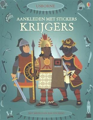 Aankleden met stickers: krijgers