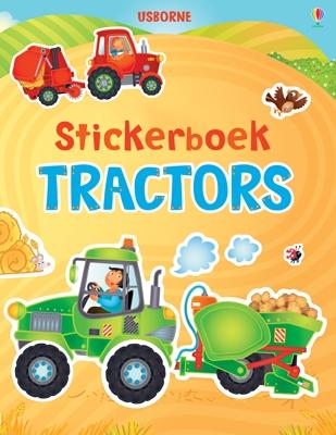 Usborne stickerboek: tractors