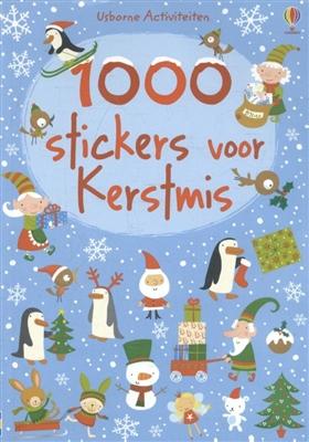 1000 stickers voor kerstmis