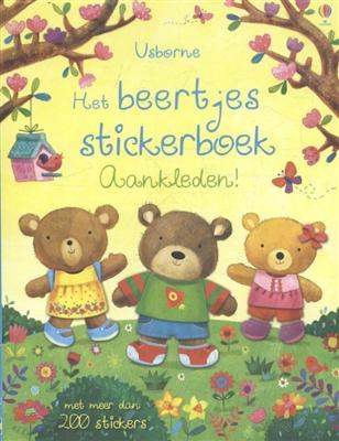 Het beertjes stickerboek: aankleden!