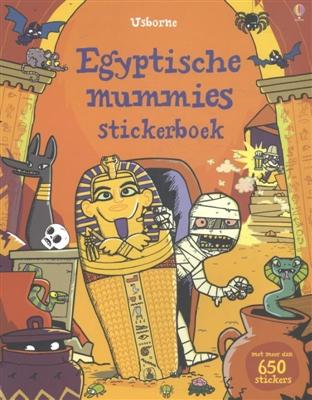 Usborne stickerboeken Egyptische mummies