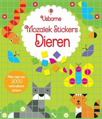 Moza�ek stickers - dieren