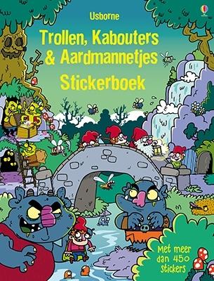 Trollen, kabouters & aardmannetjes stickerboek