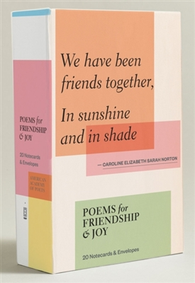 Poems for friendship & joy (notecards) : 20 notecards & envelopes