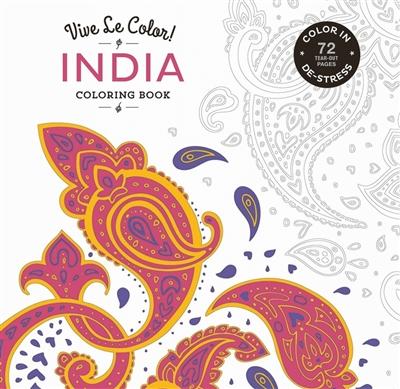 Vive le color! india (coloring book)