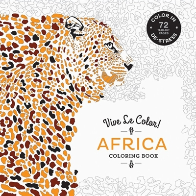 Colouring book Vive le color! africa