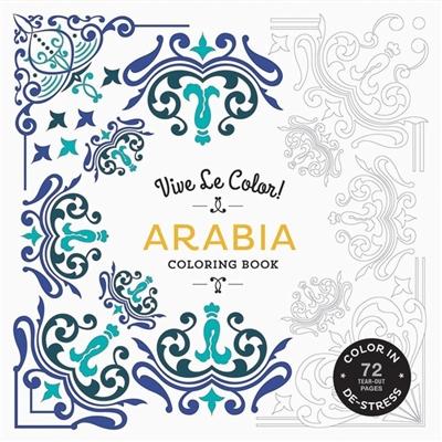 Colouring book Vive le color! arabia