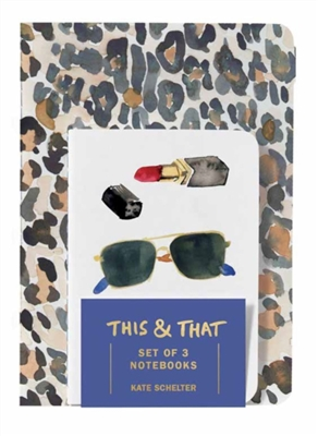 This & that: set of 4 notebooks
