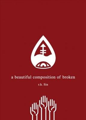 Beautiful composition of broken