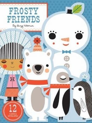 Frosty friends 12 notecards