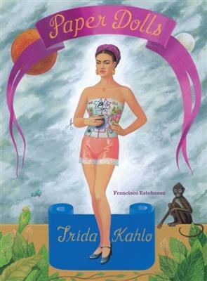 Frida kahlo paper doll set