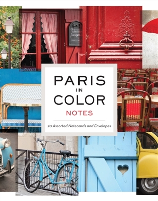 Paris in colour notes (20 cards + envelopes)
