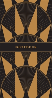 Art deco notebooks