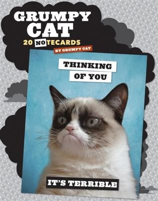 Grumpy cat notecards: 20 notecards + envelopes