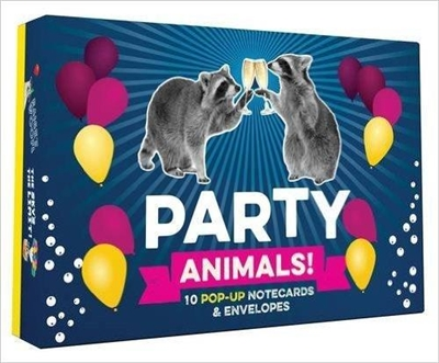 Party animals! : 10 pop-up notecards & envelopes